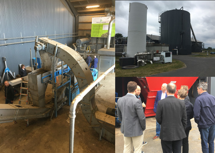 Biogas facility at Aarhus University, Foulum. Mechanical pre-treatment is proven to be a big increaser of biogas production
